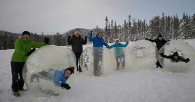 Boblefotball også om vinteren