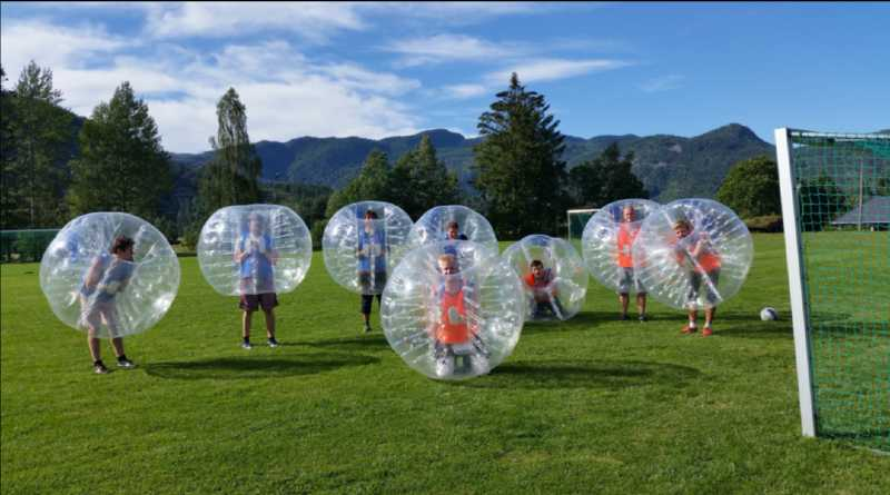 Vi kan arrangere Boblefotball der du er