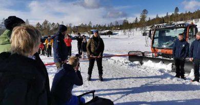 HallingEventYr tilstede når Turufjell åpnet alpinbakken