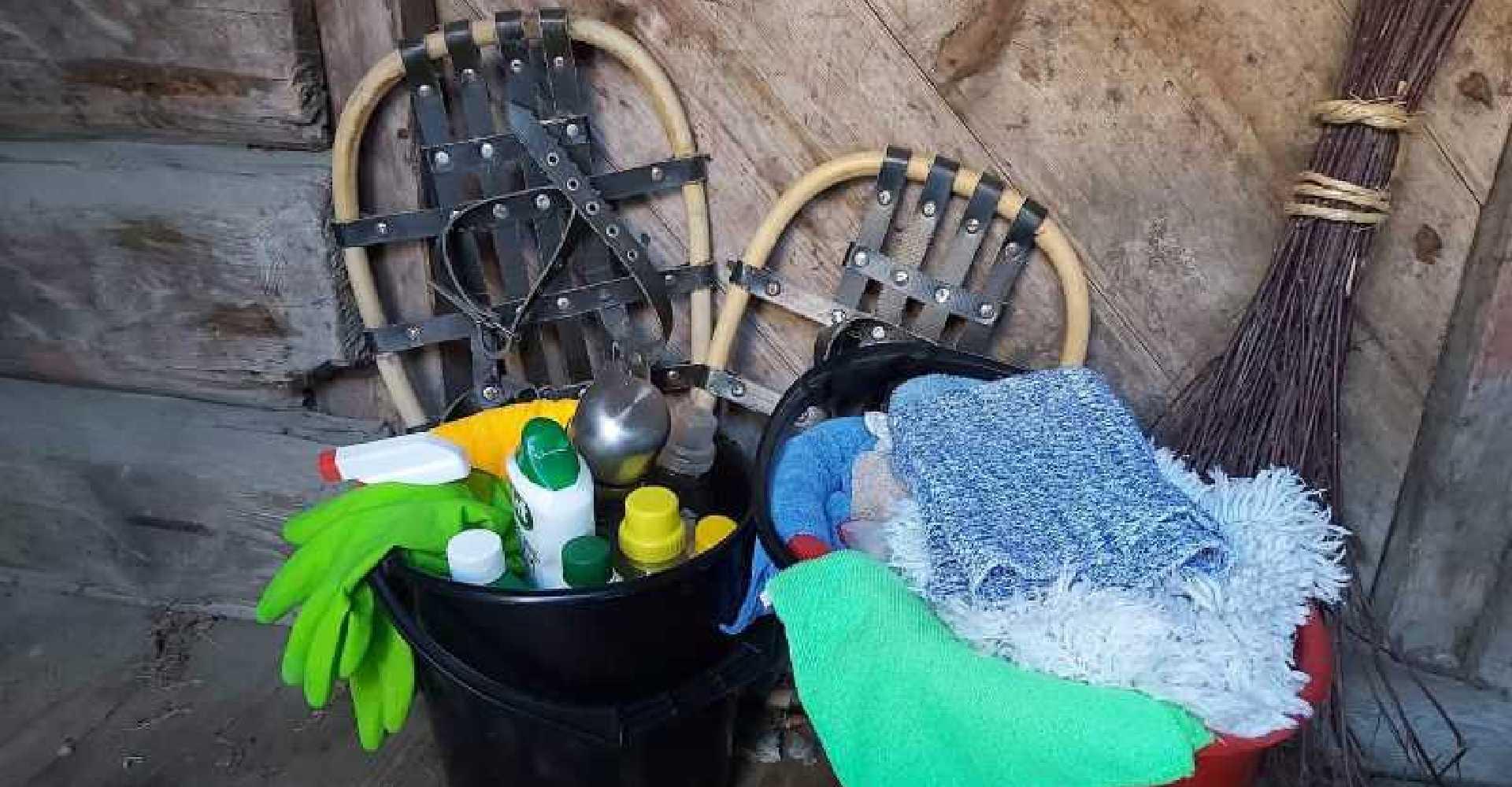 Trenger hytta en vask