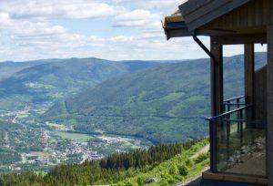 Flott utsikt fra Skagahøgdi