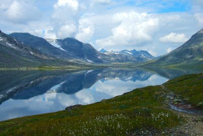 Jotunheimen har områder i Valdres. FOTO: Frankemann, CC BY-SA 4.0, via Wikimedia Commons