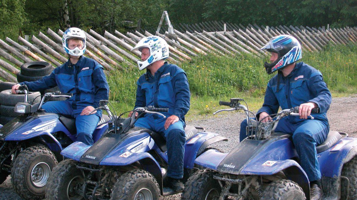 Åtte-kamp i grener både med og uten motor. FOTO: Gol Motorsport